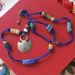 Handmade using beads & Coptic cross from Africa